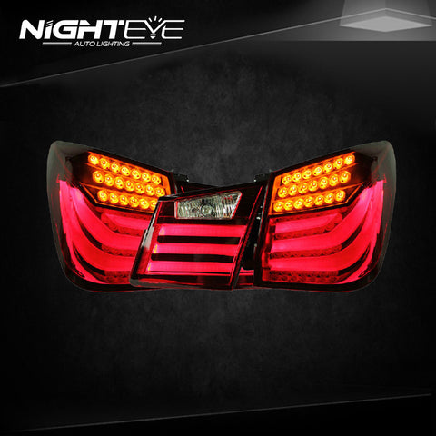 NightEye Chevrolet Cruze Tail Lights BMW Design 2012 Cruze LED Tail Light