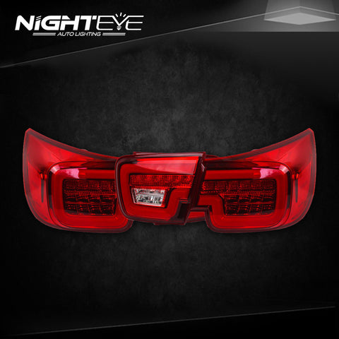 NightEye Chevrolet Malibu Tail Lights 2011-2015 New Malibu LED Tail Light