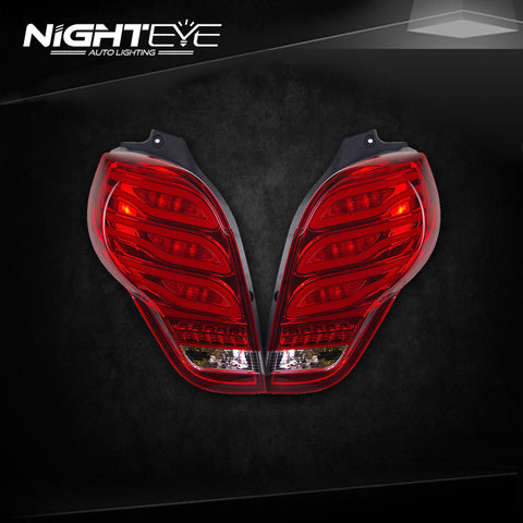 NightEye Chevrolet Spark Tail Lights 2010-2014 New Spark LED Tail Light