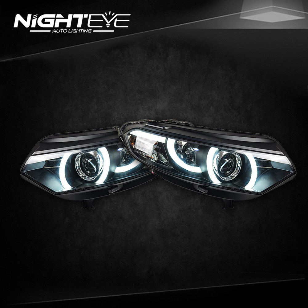 Nighteye Ford Ecosport 2014 2015 New Evoque Desgin Led Headlight
