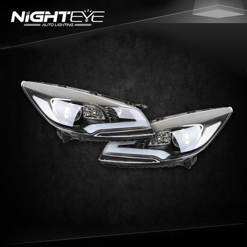 NightEye Ford Escape Headlights 2014 Kuga Cob Design LED Headlight