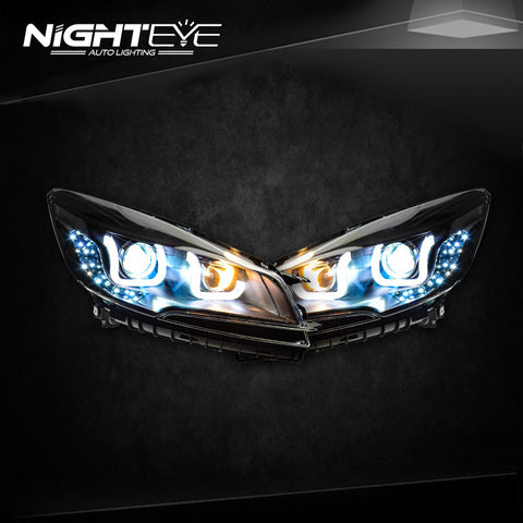 NightEye Ford Escape Headlights 2014 New Kuga Angel Eye Headlight