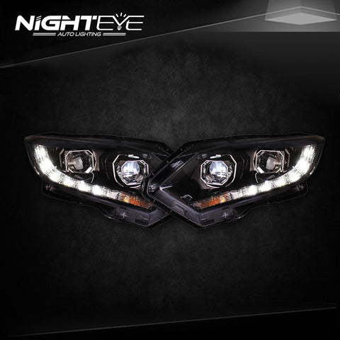 NightEye Honda HRV Headlights 2014-2016 Vezel LED Headlight