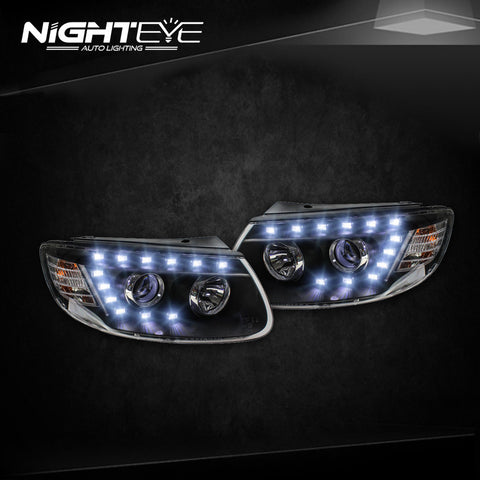 NightEye Hyundai Santa Fe Headlights 2007-2013 New Santa LED Headlight