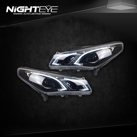 NightEye Hyundai Sonata 9 Headlights 2015 New Sonata LED Headlight