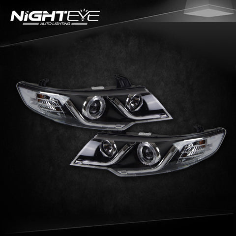 NightEye Kia Forte Headlights 2010-2014 Cerato LED Headlight