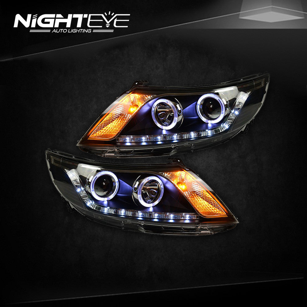 Nighteye Kia K2 Headlights 2011 2014 Rio Led Headlight