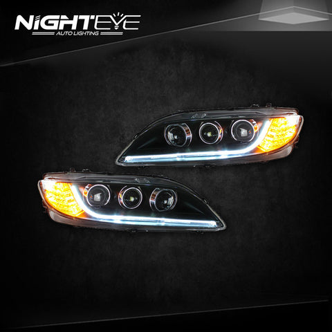 NightEye Mazda 6 Headlights 2004-2013 Mazda6 LED Headlight