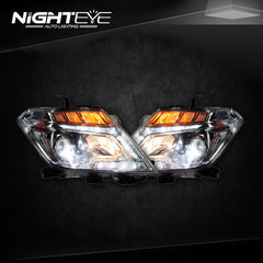 NightEye Nissan Patrol Headlights 2014-2015 Tourle LED Headlight