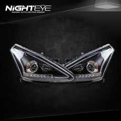 NightEye Nissan Tiida Headlights 2012-2015 New Tiida LED Headlight - NIGHTEYE AUTO LIGHTING