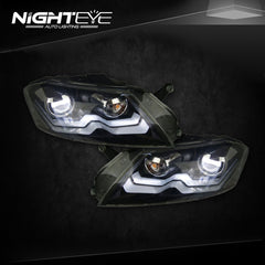 NightEye Passat B7 LED Headlights 2012-2015 VW Passat LED Headlight - NIGHTEYE AUTO LIGHTING
