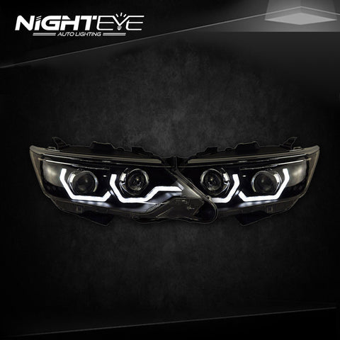 NightEye Toyota Camry Headlights New Camry V55 LED Headlight