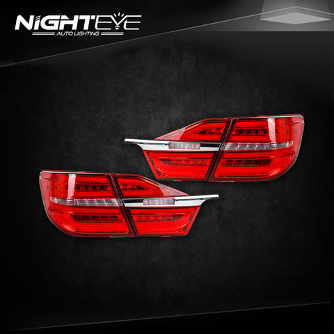 NightEye Camry Tail Lights 2015 New Camry V55 LED Tail Light