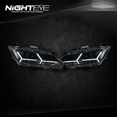 NightEye Toyota Camry V55 Headlights 2015 New Camry LED Headlight