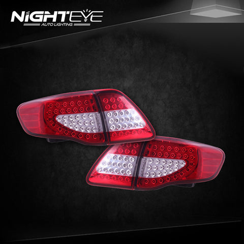 NightEye Toyota Corolla Tail Lights 2007-2010 Corolla LED Tail Light