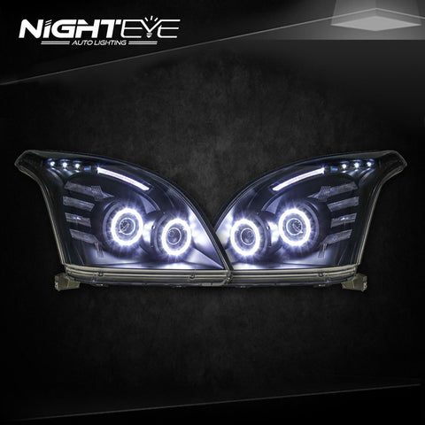 NightEye Toyota Prado Headlights 2004-2009 Prado LC150 LED Headlight