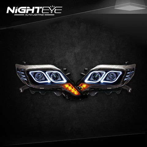 NightEye Prado LED Headlights 2013-2014 New Prado  H7 Car Accessories