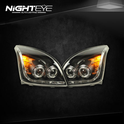 NightEye Toyota Prado LC200 Headlights 2004-2009 LED Headlight