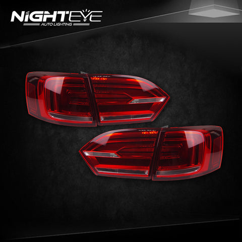 NightEye VW Jetta MK6 Tail Lights North America Design Jetta LED Tail Light