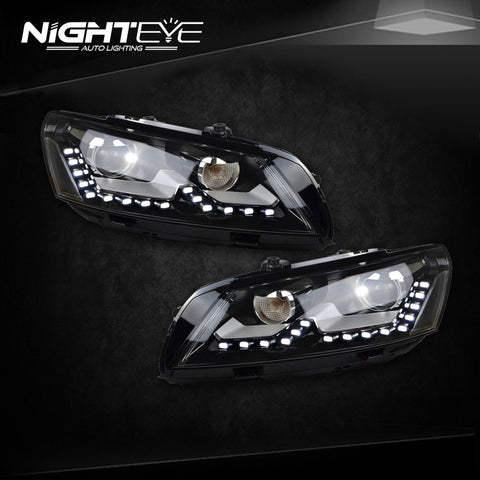 NightEye VW Passat B7 Headlights 2012-2015 US Version LED Headlight