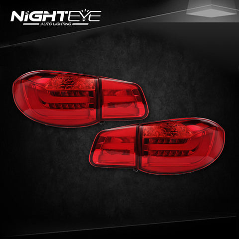 NightEye VW Tiguan Tail Lights 2010-2012 Tiguan LED Tail Light