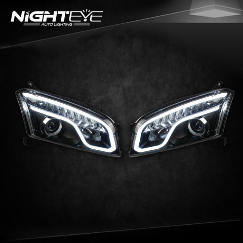 NightEye Chevrolet Tracker LED Headlights 2014-2015 Trax DRL Bi Xenon Lens Parking Fog Lamp