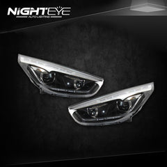 NightEye Hyundai IX35 Headlights LED DRL Bi Xenon Lens High Beam Parking Fog Lamp - NIGHTEYE AUTO LIGHTING