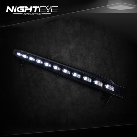 NightEye Audi Q7 DRL 2006-2010 LED Daytime Running Fog Light Parking Signal Accessories