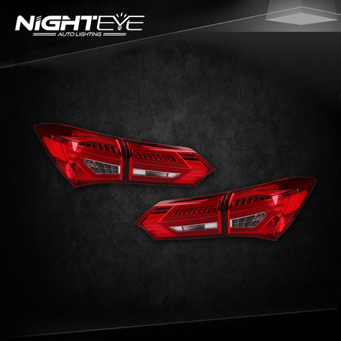 NightEye 2015 TOYOTA Altis LED Tail Light GLK Design Rear Lamp DRL+Brake+Park+Signal