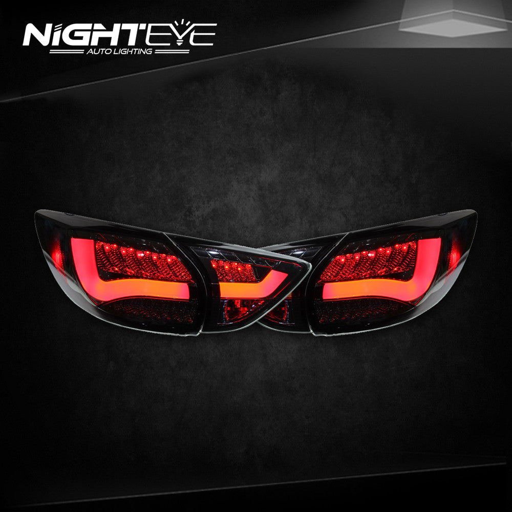 NightEye Taiwan Sonar Mazda CX-5 LED Tail Light Rear Lamp DRL+Brake+Park+Signal