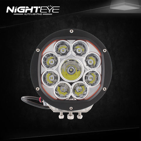 NIGHTEYE 90W 7in LED Working Light