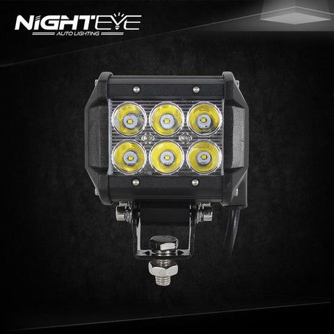 NIGHTEYE 18W 3.9 inch LED Work Light Bar
