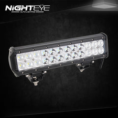 NIGHTEYE 72W 12 inch LED Work Light Bar - NIGHTEYE AUTO LIGHTING