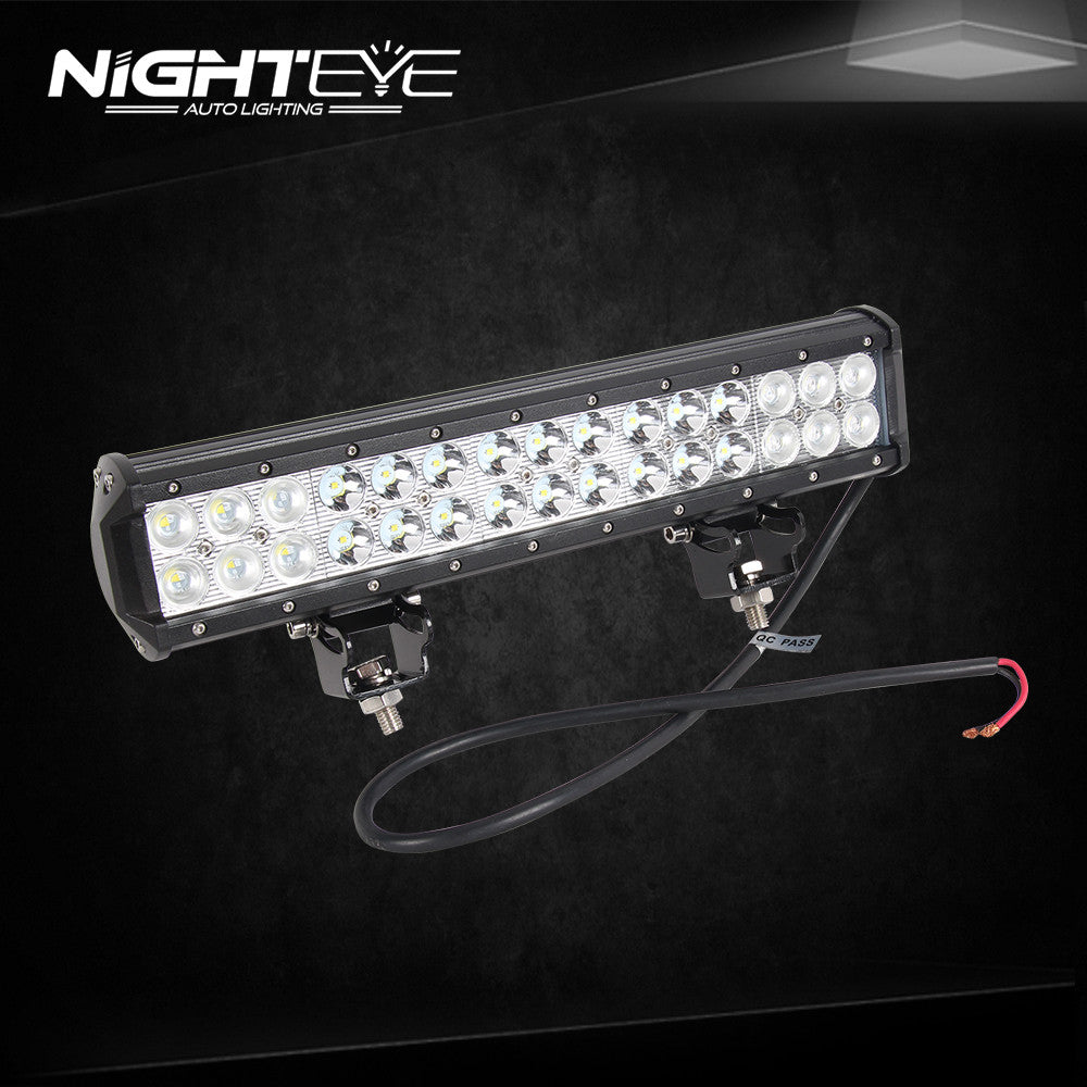 NIGHTEYE 90W 14.6 inch LED Work Light Bar