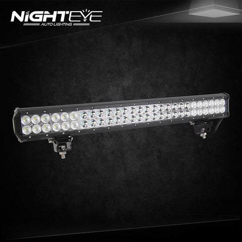 NIGHTEYE 162W 25.2 inch LED Work Light Bar