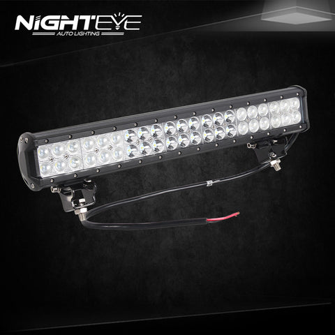 NIGHTEYE 126W 19.9 inch LED Work Light Bar