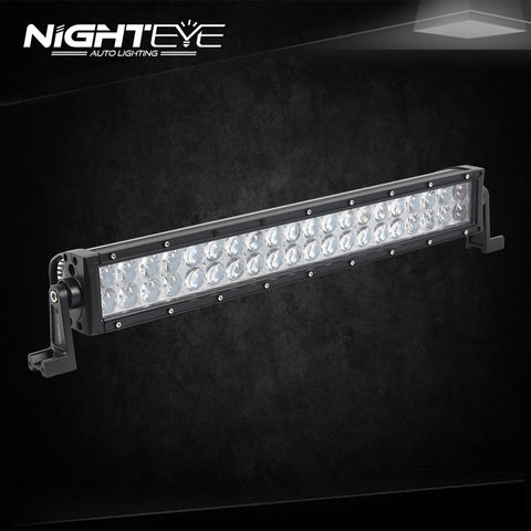 NIGHTEYE 120W 24.7 inch LED Work Light Bar