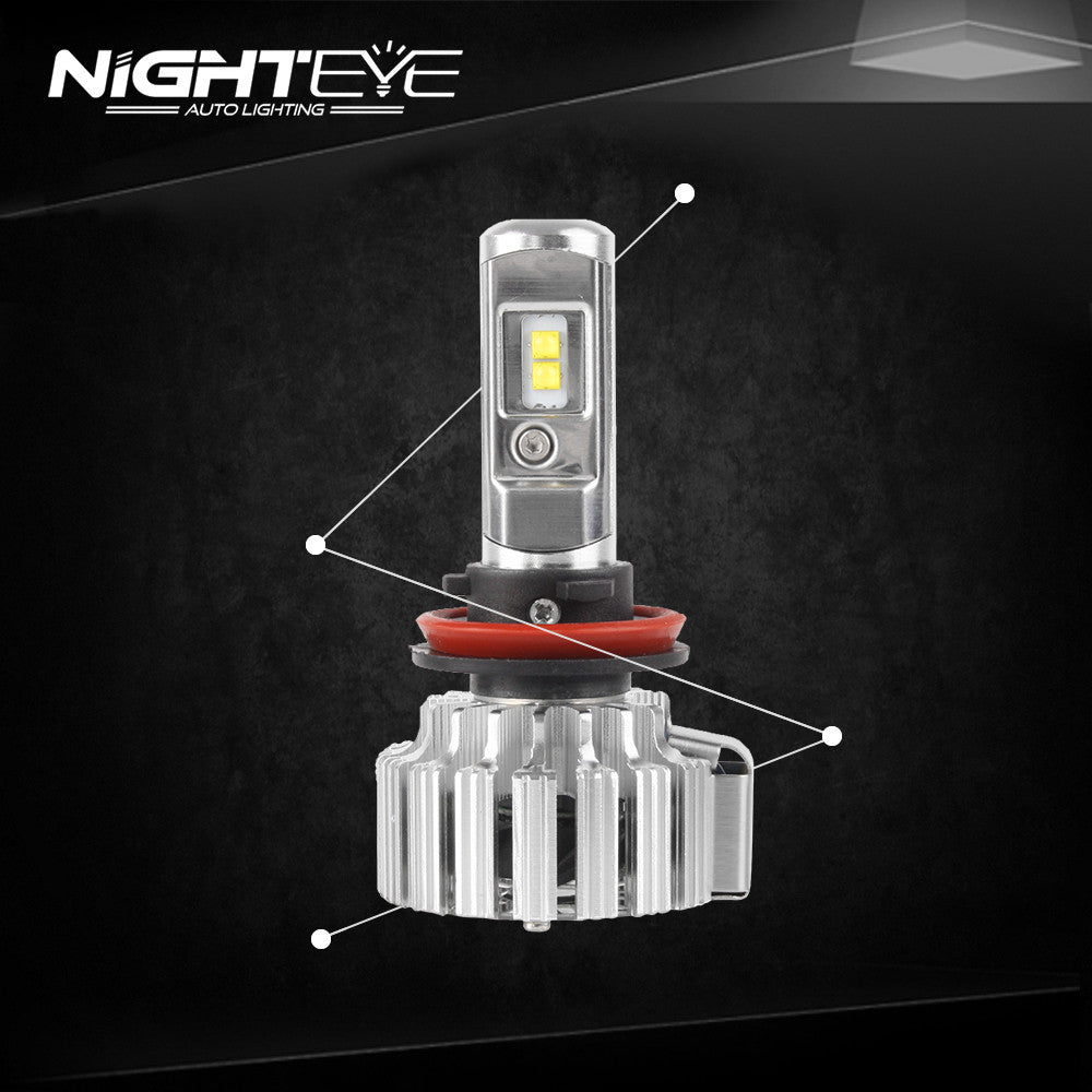 NIGHTEYE A333 9000LM 70W Car LED Headlights H11