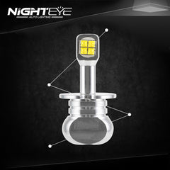 NIGHTEYE A334 LED Fog Lights 3000LM - NIGHTEYE AUTO LIGHTING