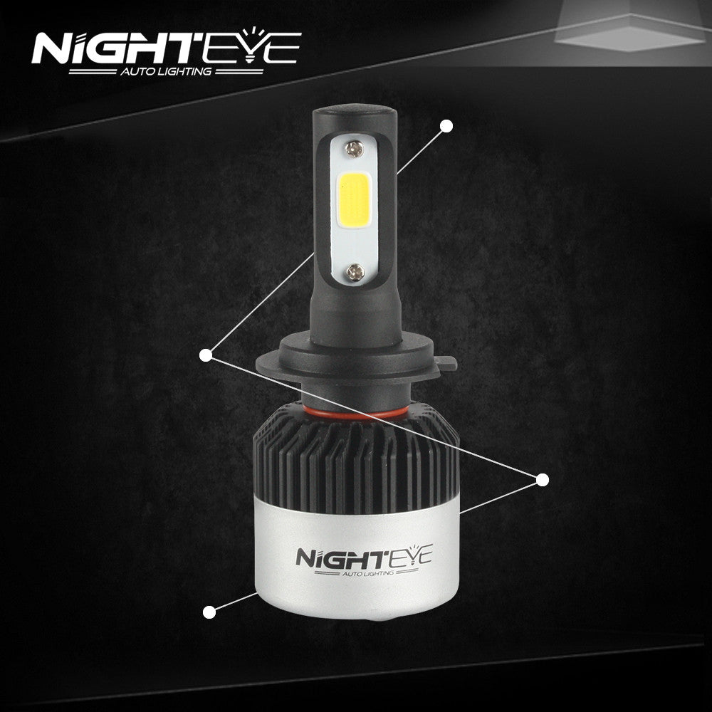 NIGHTEYE A315 72W 9000LM H7 LED Car Headlight