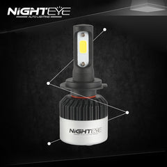 NIGHTEYE A315 72W 9000LM H7 LED Car Headlight - NIGHTEYE AUTO LIGHTING