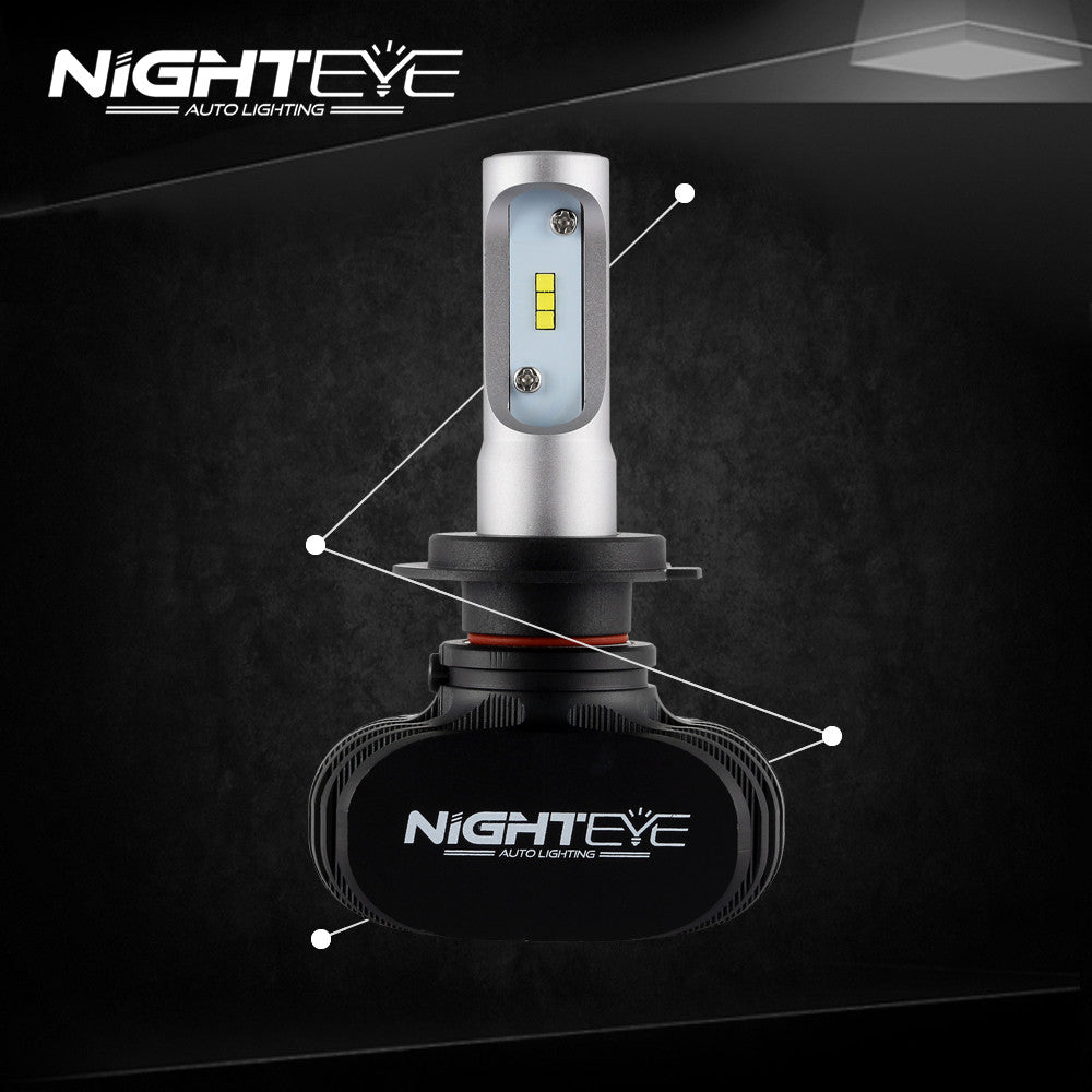 nighteye a315 h7 8000lm 50w led car headlight nighteye auto lighting. Black Bedroom Furniture Sets. Home Design Ideas