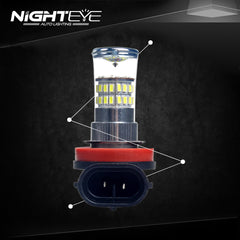 NIGHTEYE A263 Fog LIght 96W H8 - NIGHTEYE AUTO LIGHTING