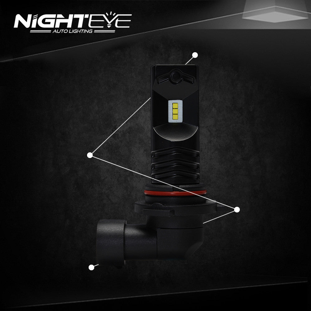 NIGHTEYE A338 1600LM 80W Signal Light Door Light Fog Light 9006