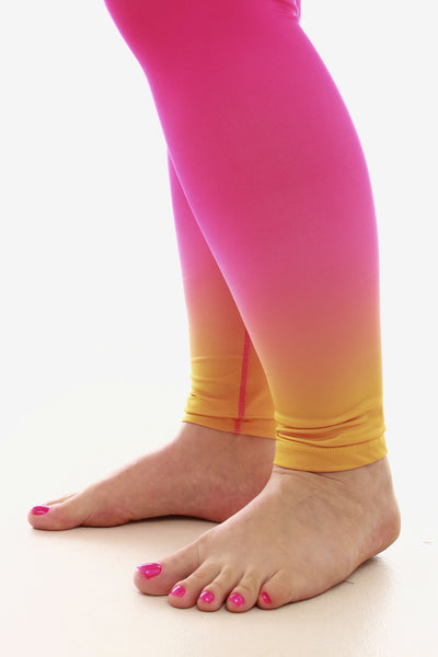 Yoga Pant - Pink Sunrise