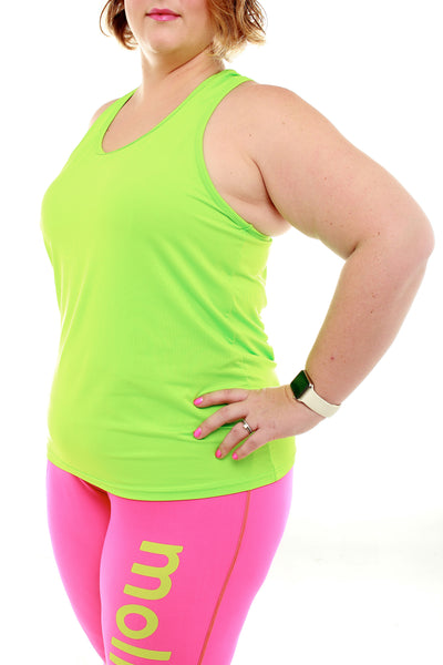 Running Top - Neon Green