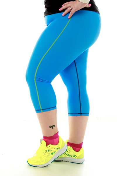 Running Capri - Blue