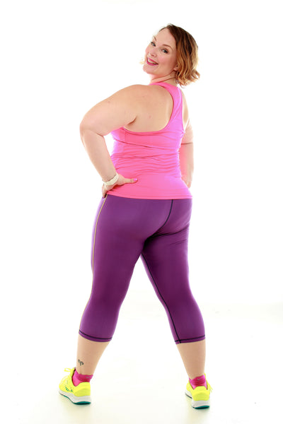 Running Capri - Purple