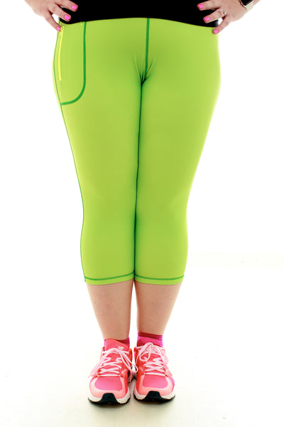 Running Capri - Green