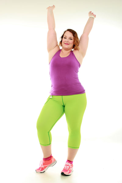 Luscious Bamboo Yoga Top - Mint